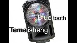 Акустическая система Temeisheng K7-10 живой звук обзор колонки