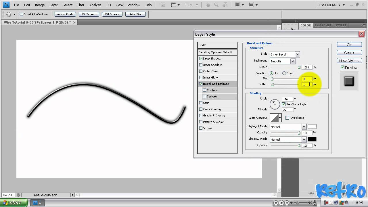 Photoshop Tutorial How To Create Realistic Wires Youtube Wiring Diagram