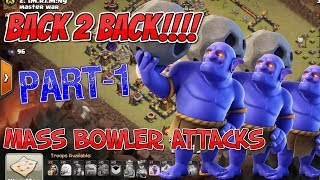 Back 2 Back bowler attacks | Clash of clans | GaminG WitH RoY
