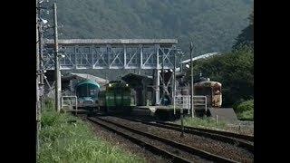 福知山電化前の山陰本線竹野付近? 想い出の鉄道シーン390