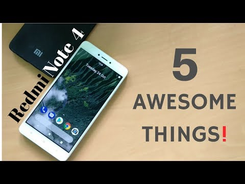 Xiaomi Redmi Note 4: 5 Awesome Tips & Tricks   Try Now (Hindi)