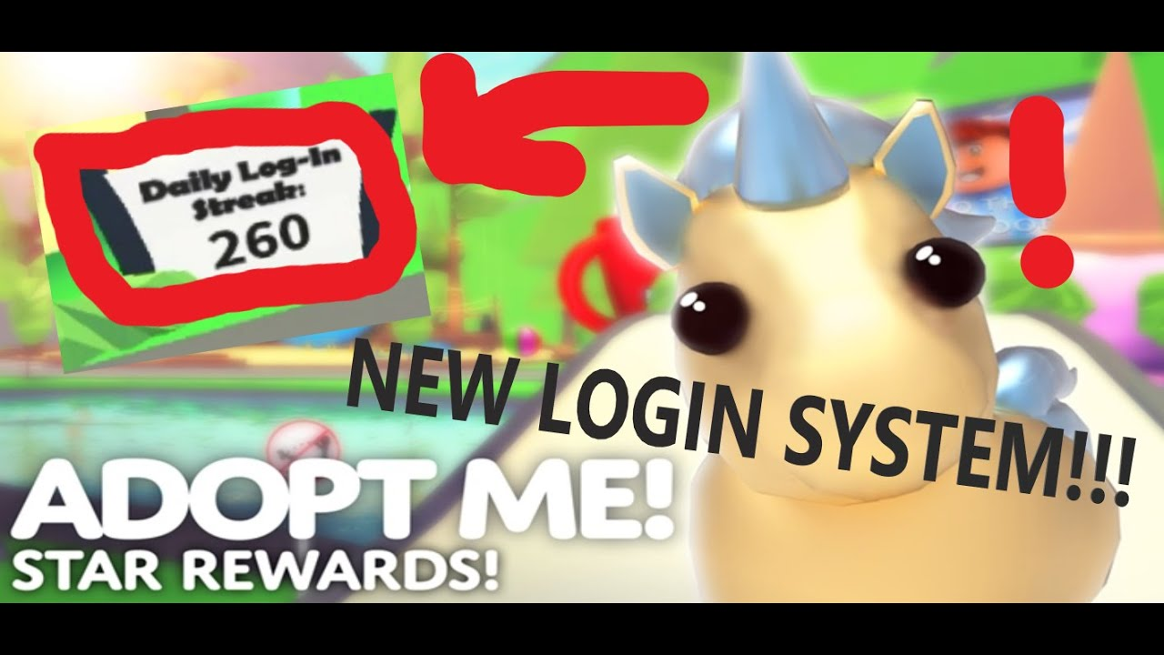 New Login System In Adopt Me Golden Unicorn Starfish