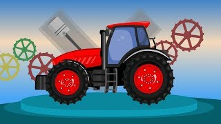 Show of Agricultural Vehicles for Kids | Uses of Roadheader & Other Vehicles for Children