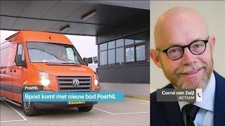 'Bpost bereidt nieuw bod voor op PostNL' - RTL Z NIEUWS