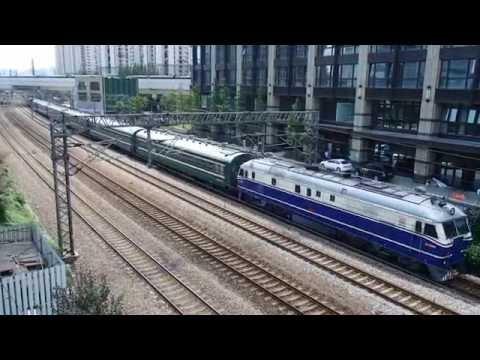 中国国鉄東風11型「周恩来号」上海~上海西 China Railways Dongfeng -11 Diesel Locomotive