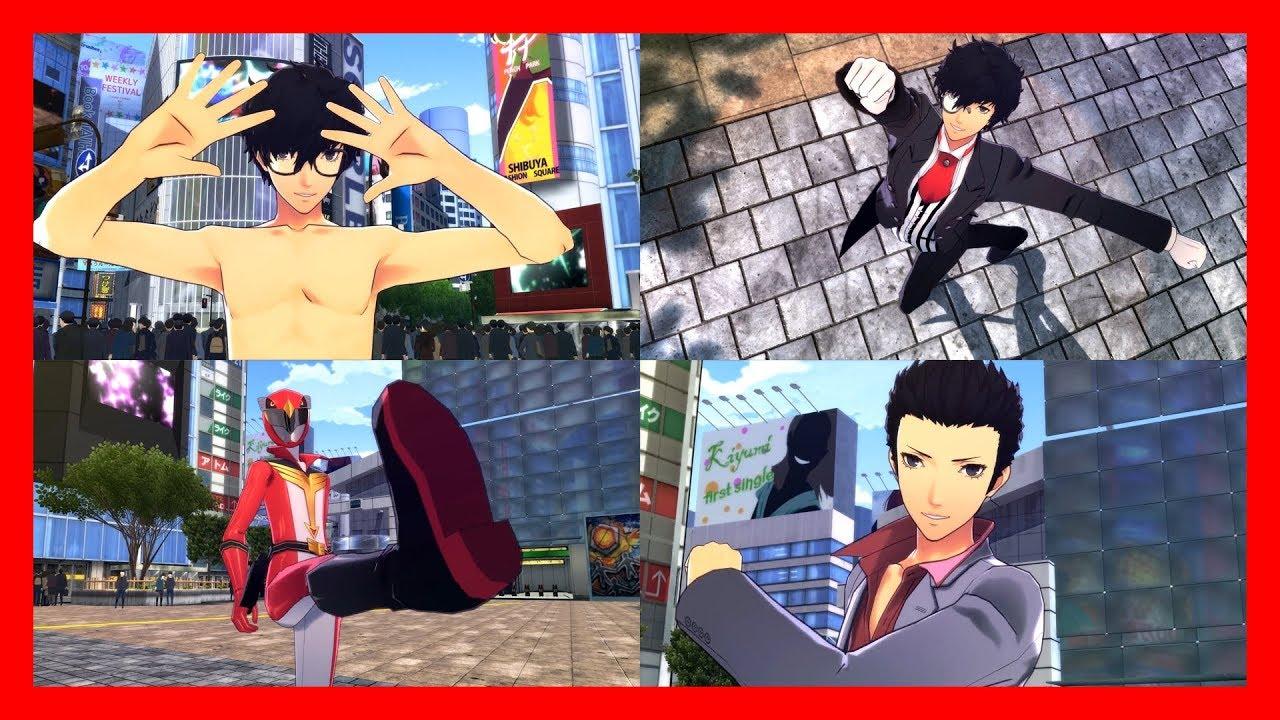 Persona 5 Dancing In Starlight Ren Amamiya Costume Showcase Ps4