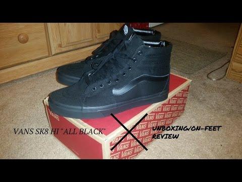 23e6082bd53 Vans sk8 hi on feet review