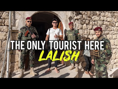 We visited Lalish in Kurdistan (Iraq) 🇮🇶