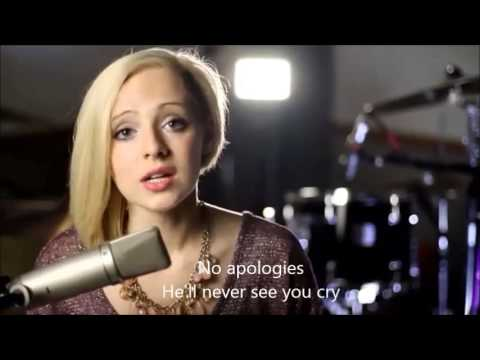 I Knew You Were Trouble Taylor Swift Cover Lyrics Chords By Madilyn Bailey Youtube
