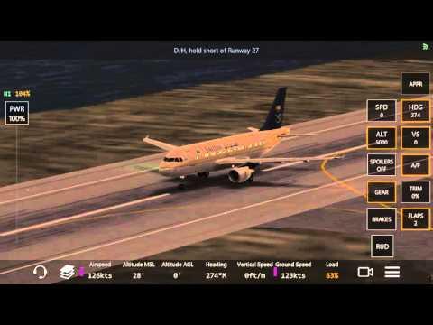 Infinite flight✈ Saudia A320 EGLC to EGLL السعودية