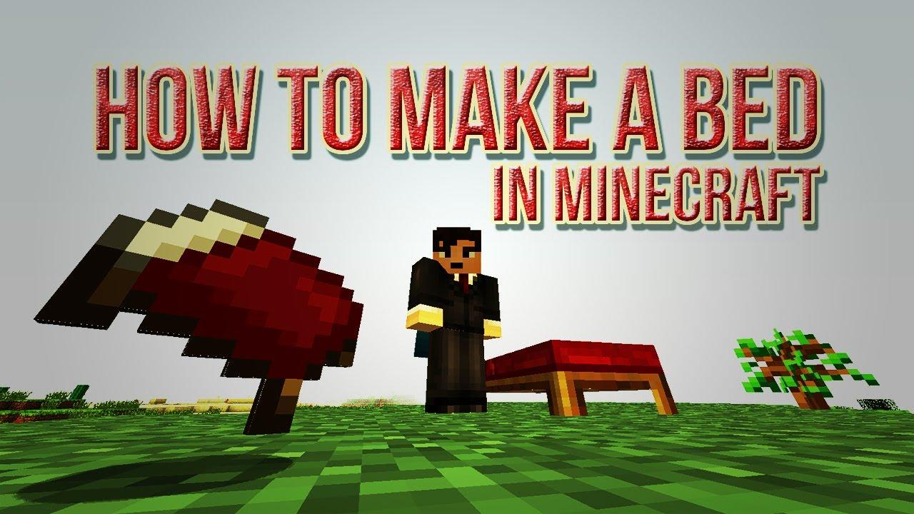 Bed Recipe Minecraft