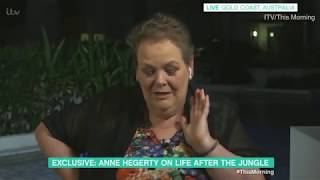I'm A Celebrity: Rita Simons told Anne Hegerty she smelt upon her jungle exit | #imaceleb