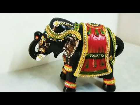 How to decorate elephant at home/Home decor /craftzone4u