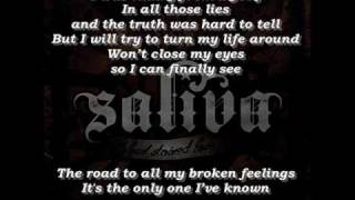 Saliva - Starting Over (Lyrics)