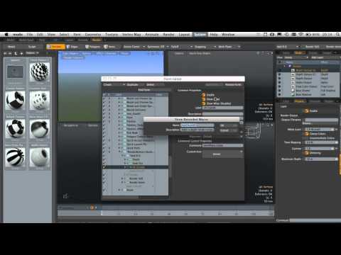 Quick Tip - Adding a Render Output Dropdown to your UI in Modo