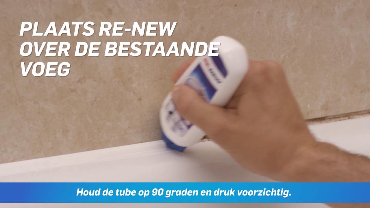 Re New Renoveer Uw Voegen In 5 Min N 1 Youtube