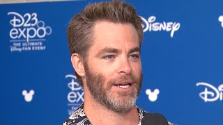 EXCLUSIVE: Chris Pine on 'Wonder Woman 2' and Working With Oprah Winfrey in 'A Wrinkle in Time'