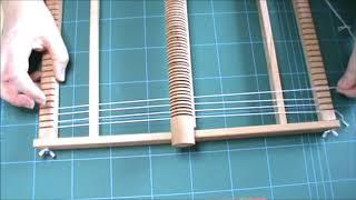 *TUTO Tissage* Débuter son métier à tisser-montage fil de chaîne/ Weaving tuto :how to start