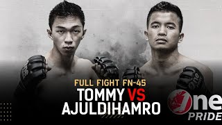 Main Event! Tommy Thio vs Ajuldihamro Simbolon - Featherweight | Full Fight One Pride MMA FN 45