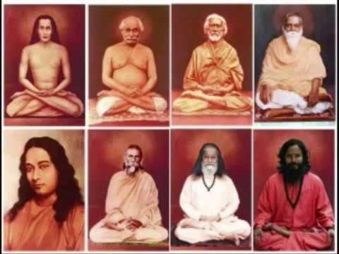 Kriya Yoga Lineage Youtube