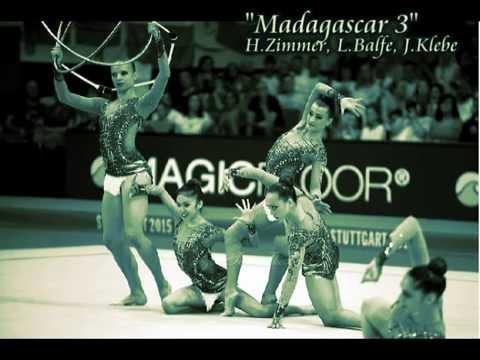"#109 - ""Madagascar 3 OST"" Music For Rhythmic Gymnastics (Groups)"