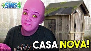 COMPREI UMA CASA NOVA E ME LASQUEI! - The Sims 4