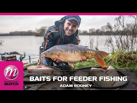 Mainline Match Fishing TV - Baits For Feeder Fishing!