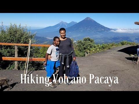 Climbing the Volcano Pacaya in Guatemala