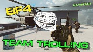 BF4 Team Trolling LoL! PS4