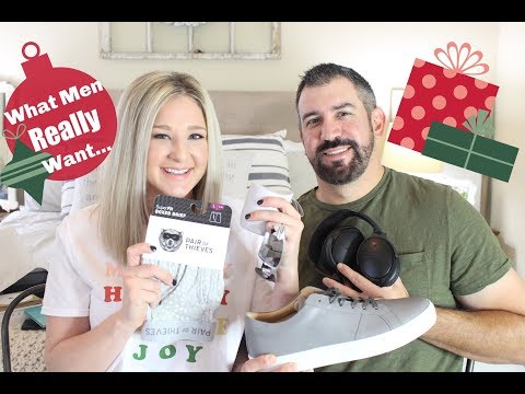 HOLIDAY GIFT GUIDE FOR MEN   WHAT MEN REALLY WANT!!
