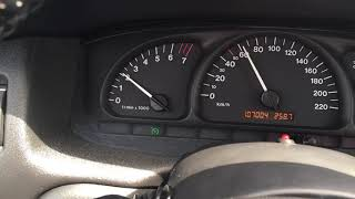 Opel Vectra B 2000...Cruise Control Light Activation
