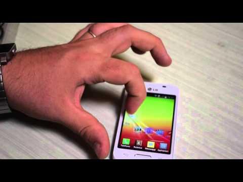 LG L40, video unboxing e primo avvio LG L40
