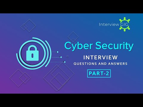 Top Cyber Security  Interview Questions And Answers Part-2 | IT Security | Cybersecurity| Engineer|