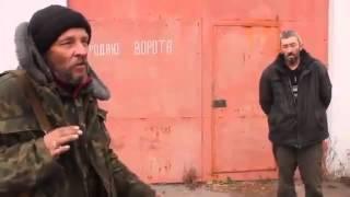 АТО Ополчение допрос пленного бат «Донбасс» 21 11 Донецк War in Ukraine