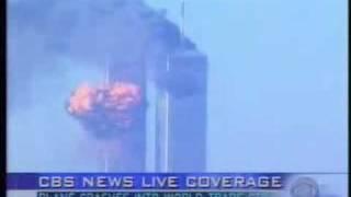 9.11テロ 2機目突入の瞬間 CBS 生中継 飛行機はCG? thumbnail