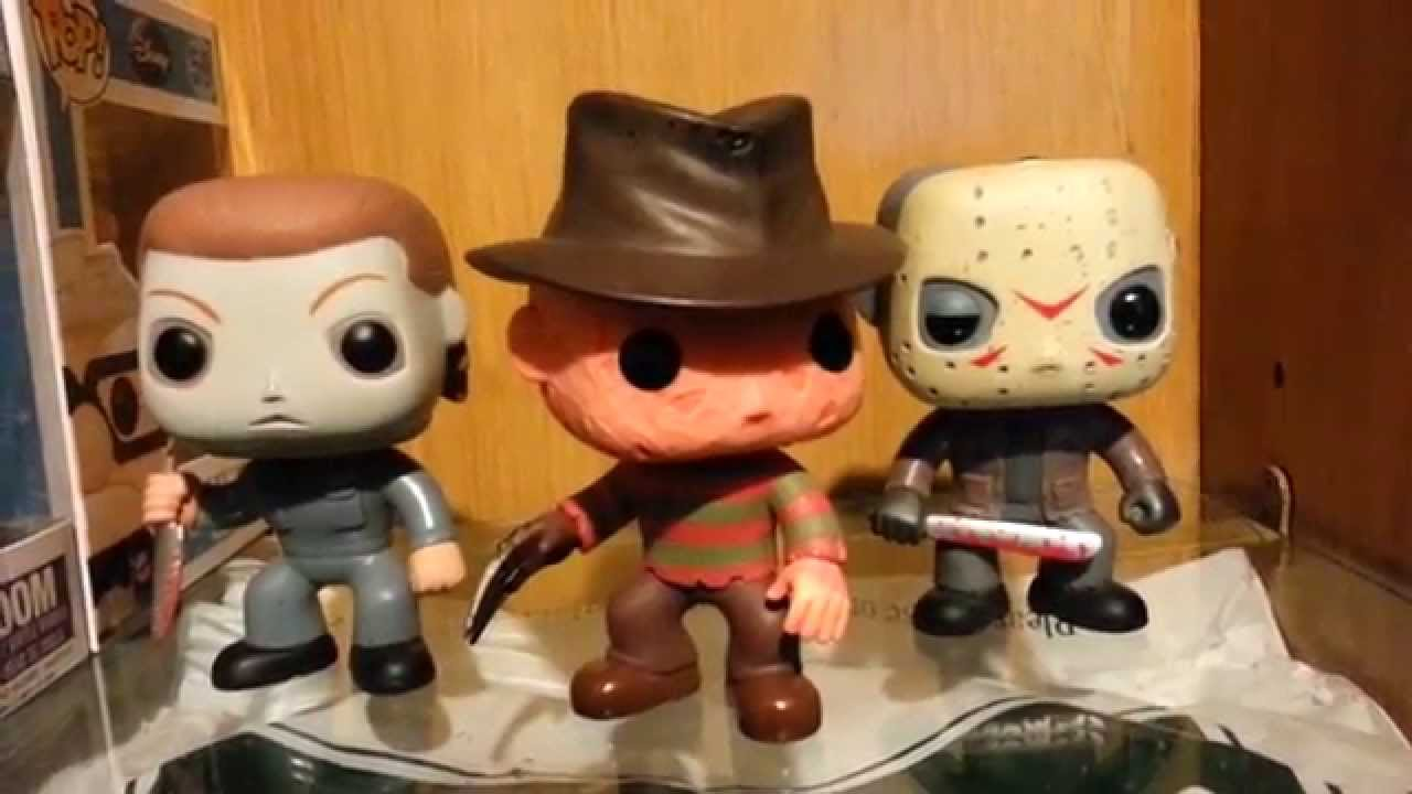 Funko Pop Michael Myers Freddy Krueger And Jason