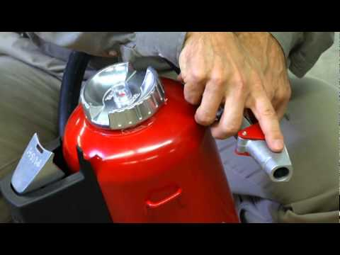 Ansul Met-L-X Fire Extinguishers