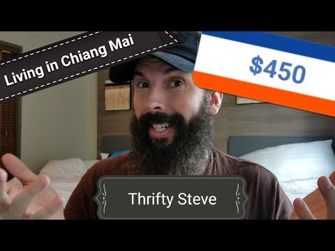 Living in Chiang Mai for $450 - May 2017 Thrifty Living Blog
