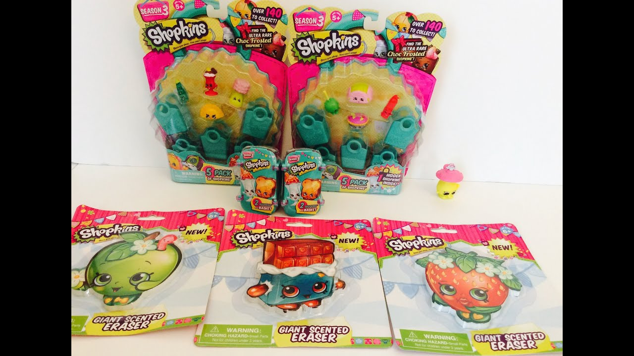 Moose Toys Season Three Shopkins Toy Review Video for Kids by