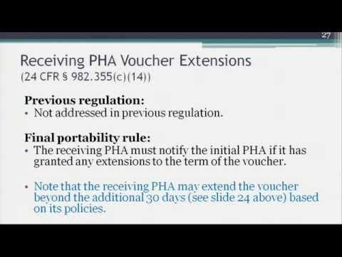Training on Final Portability Rule