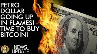 Petro Dollar Going Down In Flames - Buy Bitcoin