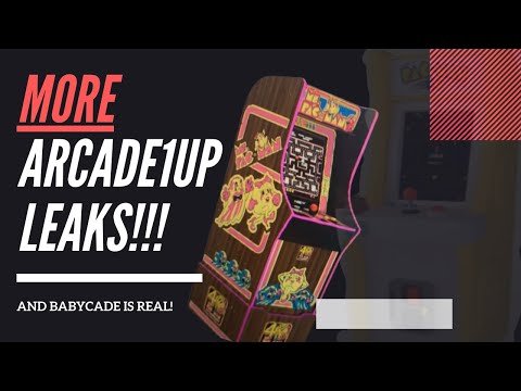 MORE Arcade1up E3 2021 leaks! And the baby cade is REAL! from Rainwater Games