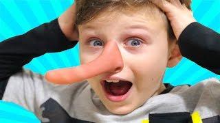 ALİ ANNESİNE YALAN SÖYLEDİ! BURNU UZADI! Funny Long Nose, Kids Pretend Playtime