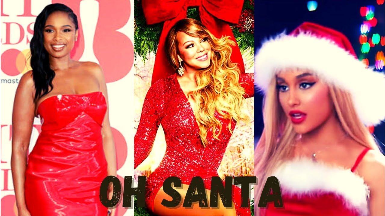 Mariah Carey- Oh Santa! (Official Music Video) ft. Ariana Grande, Jennifer  Hudson Reaction!! - YouTube