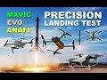 Precision Landing Test: Autel EVO vs DJI Mavic Pro vs Parrot Anafi vs DJI Mavic Air