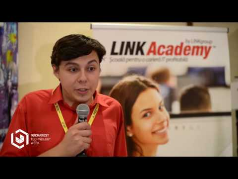 Bucharest Technology Week 2017 Interview with Adrian Sion @ LINK Group