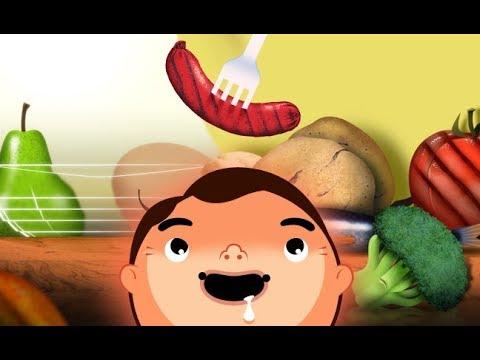 لعبة طبخ الاكل فى المطبخ للبنات واطعام الطفل 🍠🍅🍐