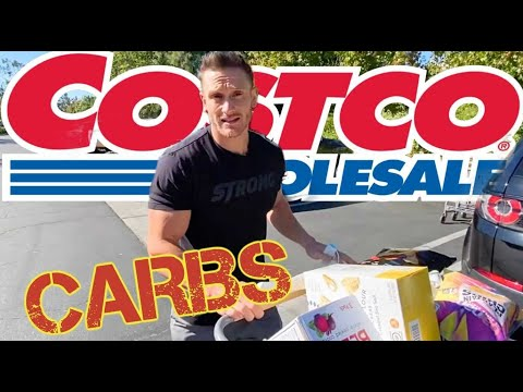 Shopping Healthy CARBS at Costco - Educational Grocery Haul