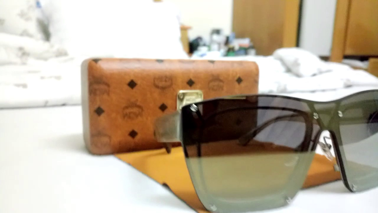 0e23385cb1d MCM sunglasses - YouTube
