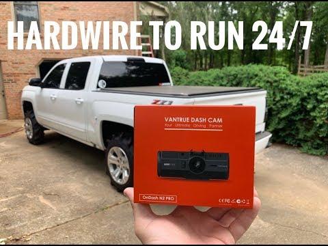 Vantrue N2 Pro Dash Cam - Full Install